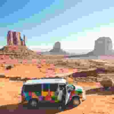Self drive a campervan through Monument Valley
