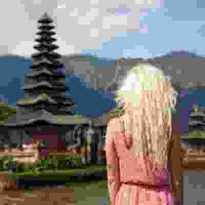 Visit traditional temples in Bali